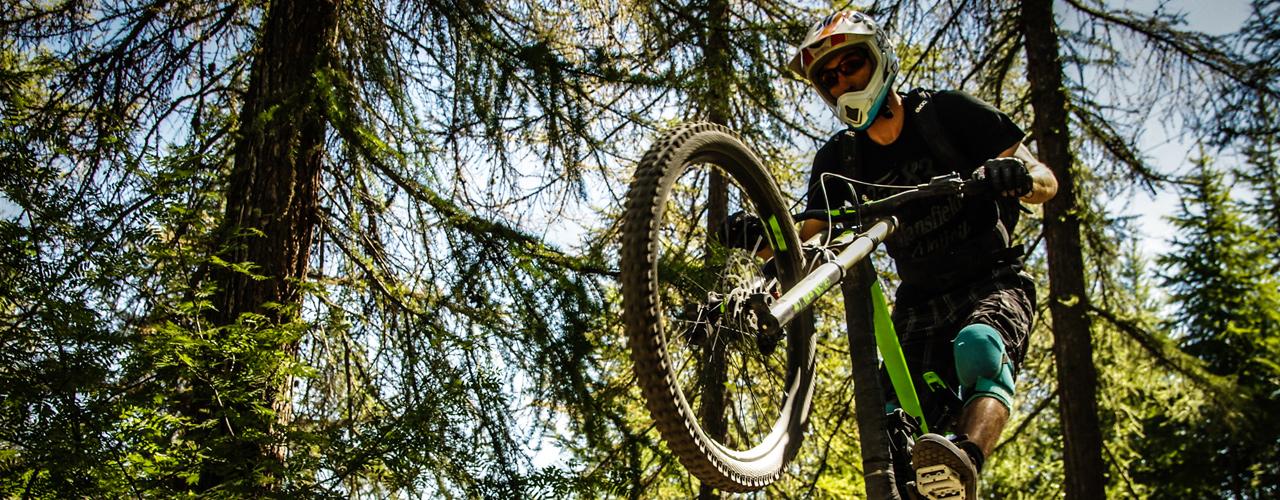 bike parke de Sauze d'Oulx