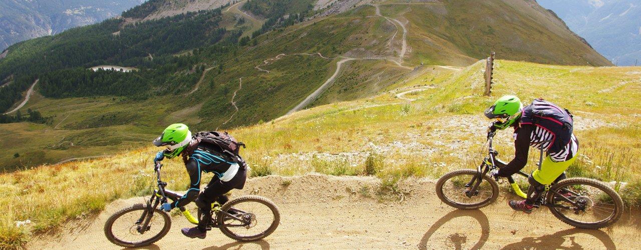 bike park de Serre Chevalier Briançon
