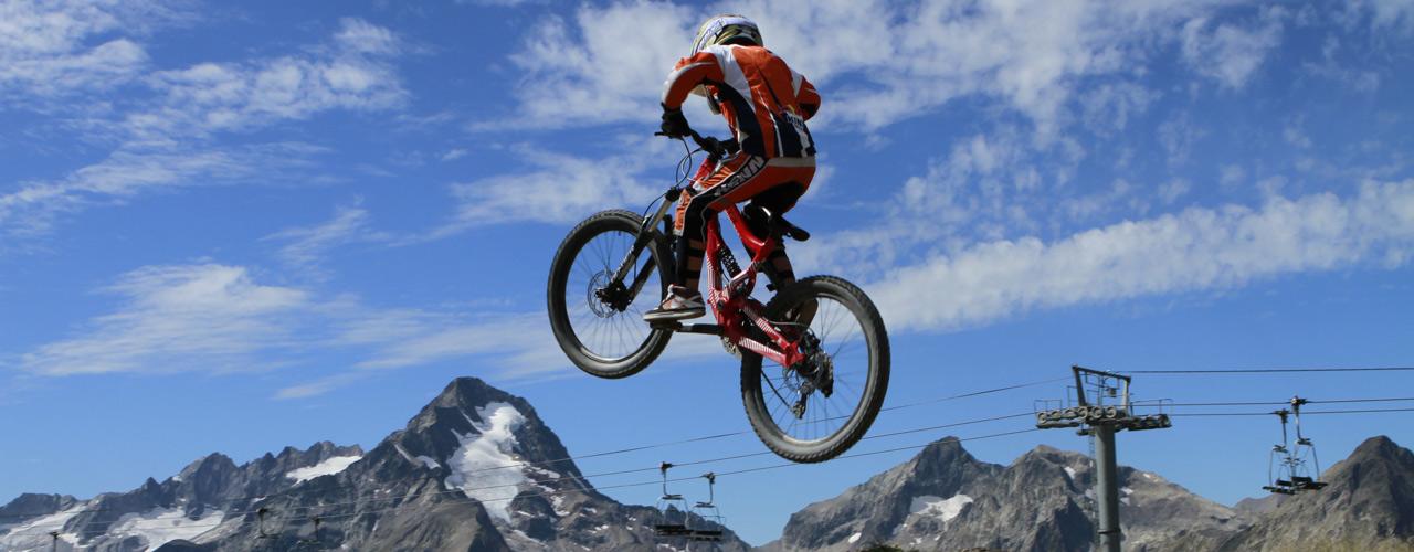 Exemple d'un stage de VTT à offrir aux 2 Alpes